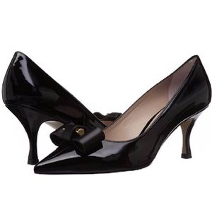 Stuart Weitzman Belle Pointe Black Heels S…